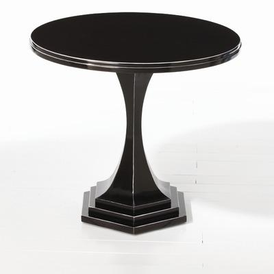ARTERIORS Home Brock Side Table In Black Lacquer   Wayfair