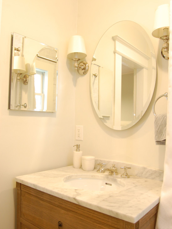 Sconces For Bathroom Mirror sconces flanking bathroom mirror design ideas