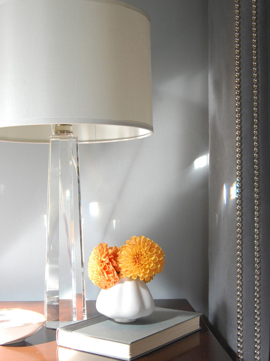 Bedroom Crystal Lamp - Contemporary - bedroom - Niche Interiors