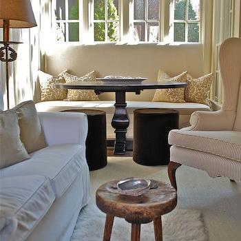 Light and Airy Sunroom, Cottage, living room, Vreeland Road