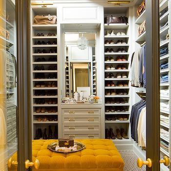 Mens Walk-In Closet, Contemporary, closet, Nate Berkus Design