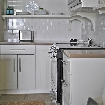 Ikea Adel Doors, Contemporary, kitchen, Vreeland Road