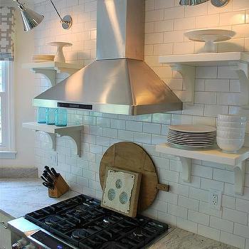 Thunder White Granite Countertops, Cottage, kitchen, Benjamin Moore Marscapone, Vreeland Road