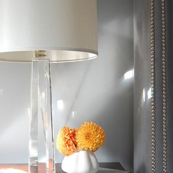 Bedroom Crystal Lamp, Contemporary, bedroom, Niche Interiors
