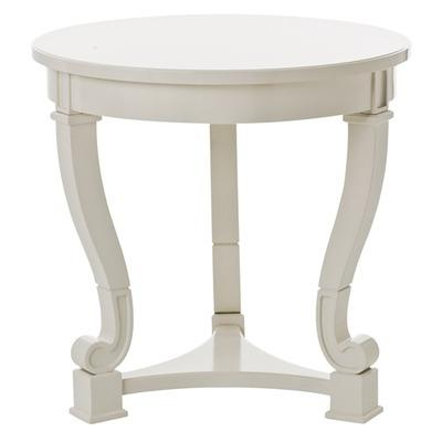 ARTERIORS Home Dorothy Cabriole Leg Solid Wood Table Wayfair - Wayfair white side table