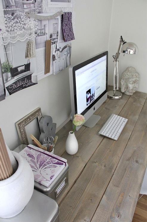 Charmant Plank Desk