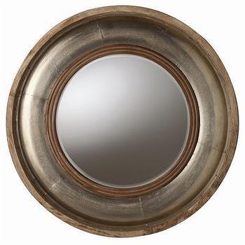 ARTERIORS Home Kathleen Light Wood / Silver Foil Mirror, Wayfair