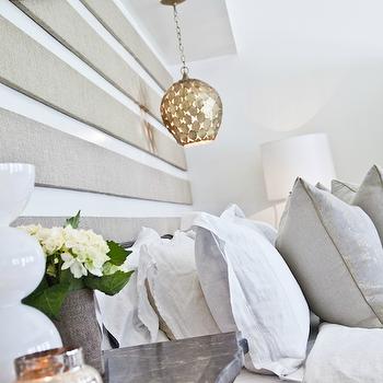 Lighting over Nightstands, Cottage, bedroom, Beach Chic Design