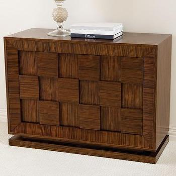 Global Views Double Block Accent Chest, Wayfair