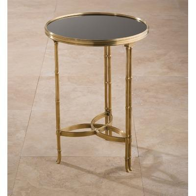 brass accent table 1