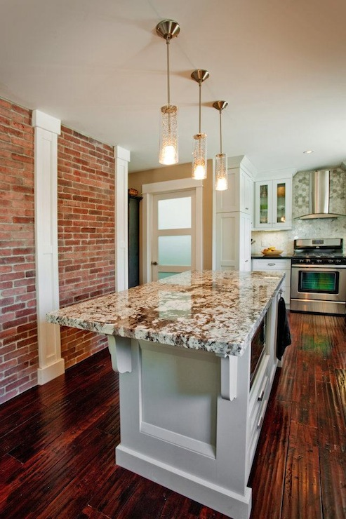 Exposed Brick Wall Design Ideas
