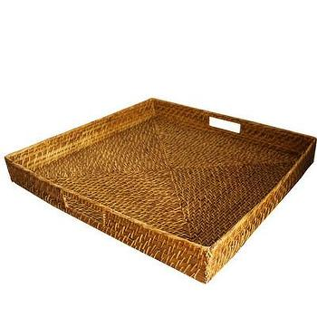 High Street Market, Extra Large Square Woven Serving Tray