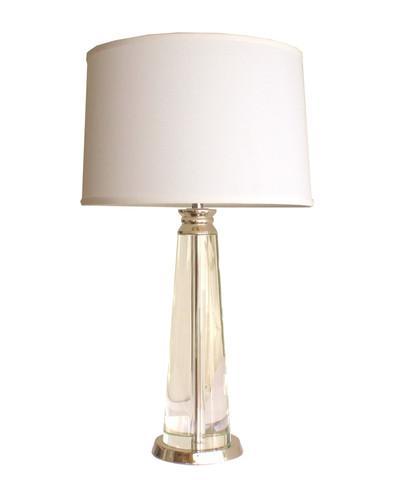 High street market crystal block table lamp high street market crystal column table lamp aloadofball Choice Image