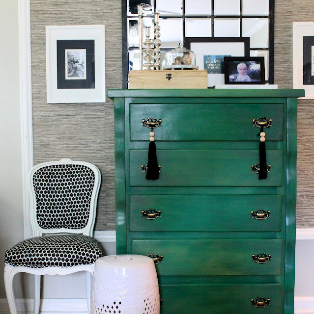 Jade Green Chest Vintage Entrance Foyer The Hunted