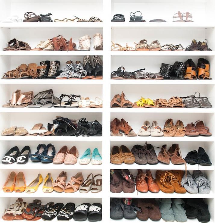 closet shoe racks view full size