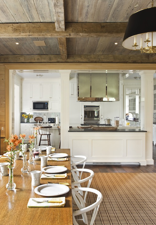 Kitchen Pass Through Country Dining, Dining Room To Kitchen Pass Through