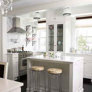lucite bar stools transitional kitchen lynne scalo