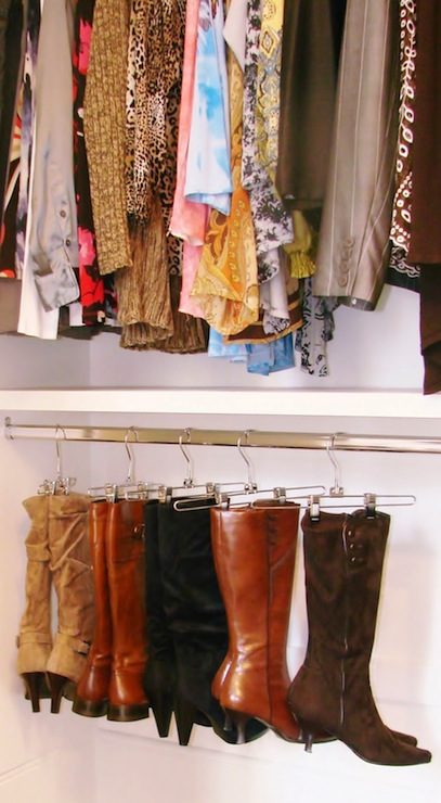 Boot Rack Ideas Contemporary Closet Brown Eyed Bell