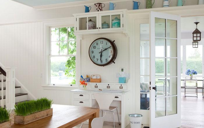 Kitchen Desk Cottage Kitchen Ali Schwarz Design Group
