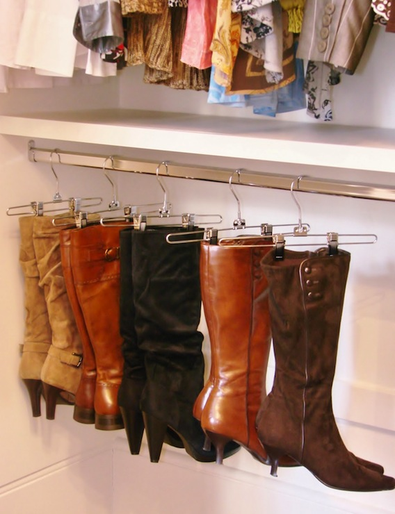 Boot Rack Ideas - Transitional - closet - Martha Stewart