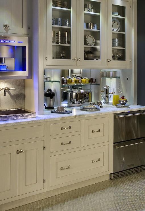 Coffee Bar Kitchen: Hidden Kitchen Breakfast Station