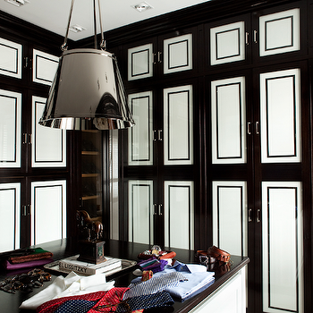 Black and White Closet Cabinets, Contemporary, closet, Luis Bustamante