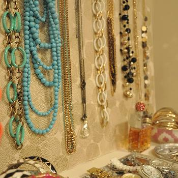 Jewelry Pin Board, Eclectic, closet, Honey We're Home