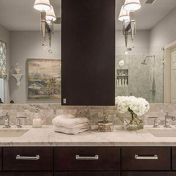 Espresso Bathroom Vanity Design Ideas