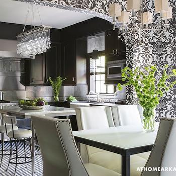 Black Kitchen, Contemporary, kitchen, At Home in Arkansas