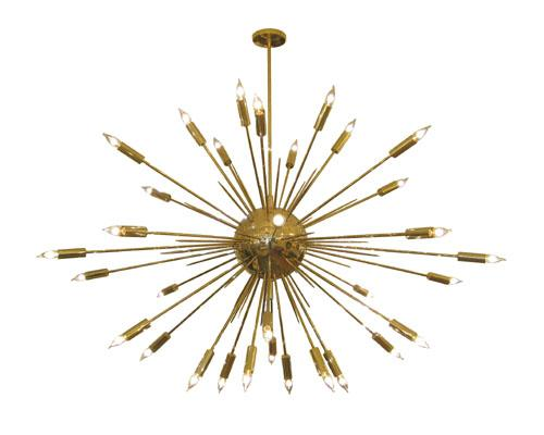 Salibello large brass sputnik chandelier john salibello large brass sputnik chandelier mozeypictures Image collections