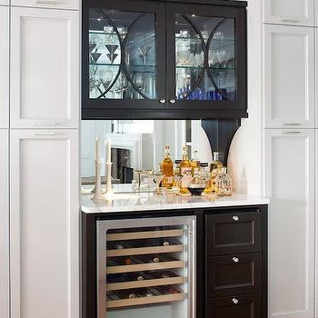 Mirror Backsplash, Contemporary, kitchen, TerraCotta Properties