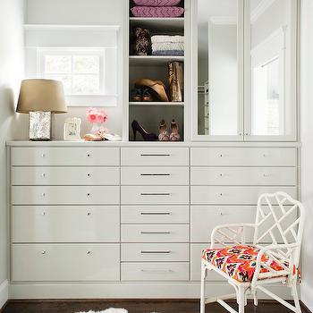 Attirant Walk In Closet Cabinets