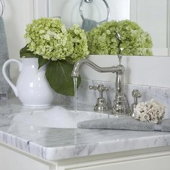 white marble countertop design ideas