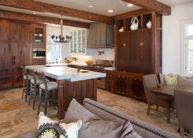 Driftwood Kitchen Cabinets Design Ideas