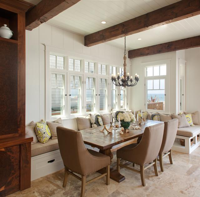 Built In Banquette - Cottage - kitchen - Bardes Interiors