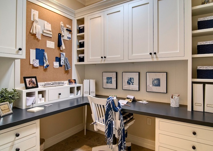 Office Built In Cabinets Design Ideas