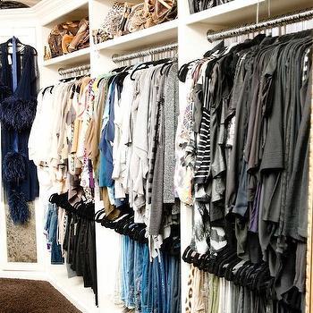 Luxurious Closet, Contemporary, closet, The Coveteur