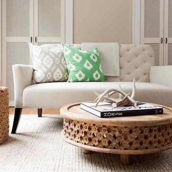 Decorative Antlers, Transitional, living room, TerraCotta Properties