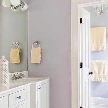 Lilac Girl's Bathroom, Transitional, bathroom, TerraCotta Properties