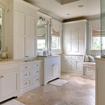 Travertine Tile Floor. Travertine Tile Floor   Traditional   bathroom   Scott Lyon  amp  Company