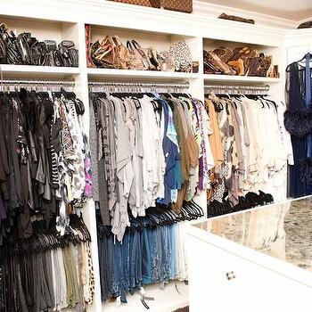 Glam Walk In Closet Design Ideas