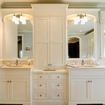His And Her Bathroom Cabinets