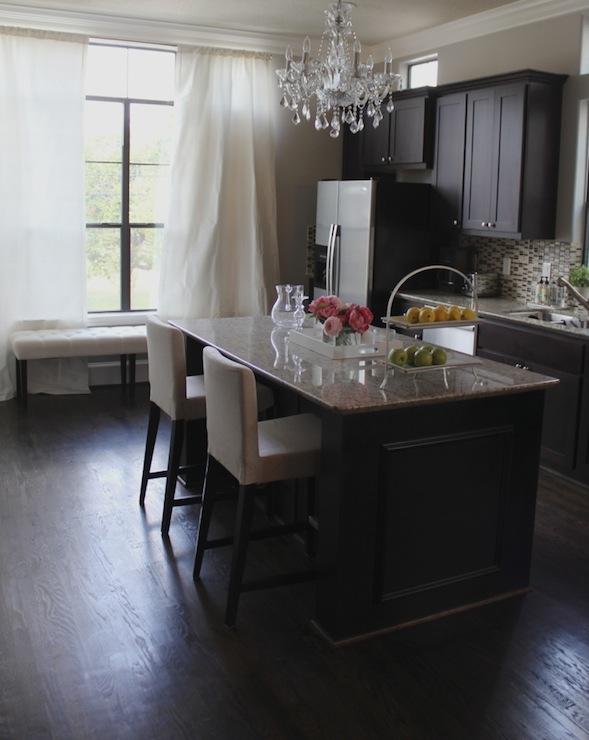 Espresso Cabinets - Contemporary - kitchen - Benjamin ...