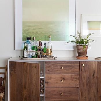 Mid-Century Modern Buffet, Vintage, dining room, Design Sponge