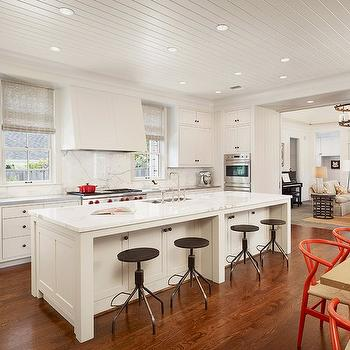 Beadboard Ceiling, Transitional, kitchen, Dillon Kyle Architecture