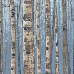 Vivaterra Hand Carved Birch Forest Panels Vivaterra