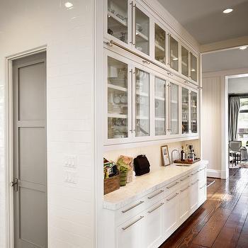 Modern Butler's Pantry, Contemporary, kitchen, Dillon Kyle Architecture