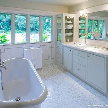 Luxurious Bathroom, Transitional, bathroom, Dillon Kyle Architecture