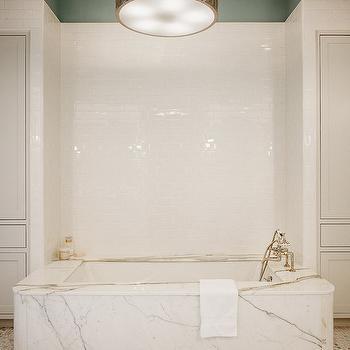 Subway Tile Backsplash, Contemporary, bathroom, Dillon Kyle Architecture