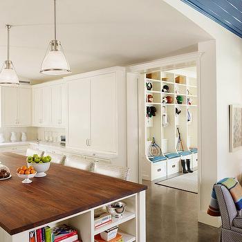 Butcher Block Island, Transitional, kitchen, Dillon Kyle Architecture